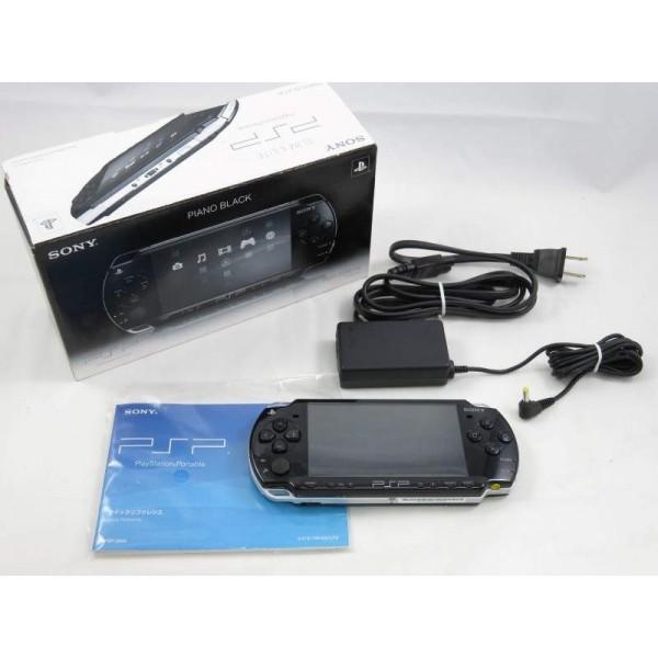 CONSOLE PSP PIANO BLACK 2000 JPN OCCASION