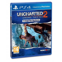 UNCHARTED 2 AMONG THE THIEVES REMASTERED PS4 FRANCAIS NEW