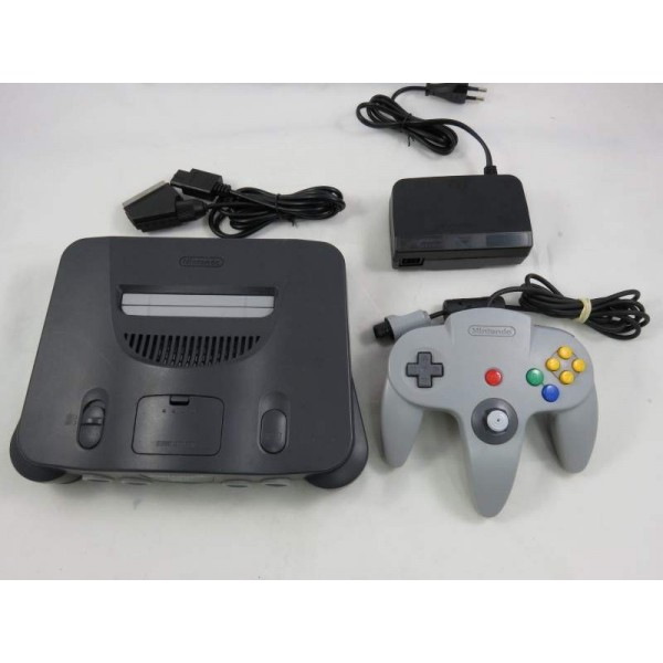 CONSOLE NINTENDO 64 FRA MODIFIEE RGB TYPE OFFICIAL MOD OCCASION