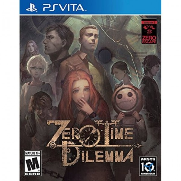 ZERO TIME DILEMMA PSVITA USA OCCASION