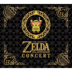 THE LEGEND OF ZELDA 30TH ANNIVERSARY CONCERT CD+DVD LIMITED EDITION NTSC-JPN NEW