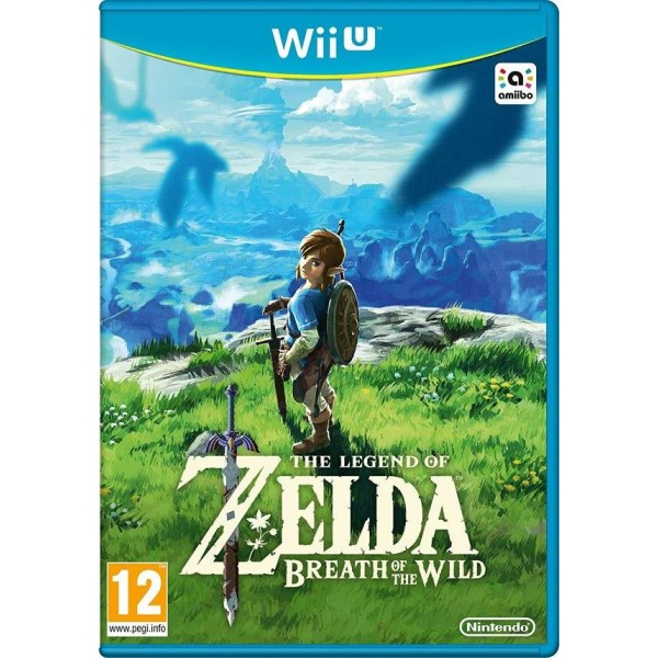 THE LEGEND OF ZELDA BREATH OF THE WILD WIIU UK NEW