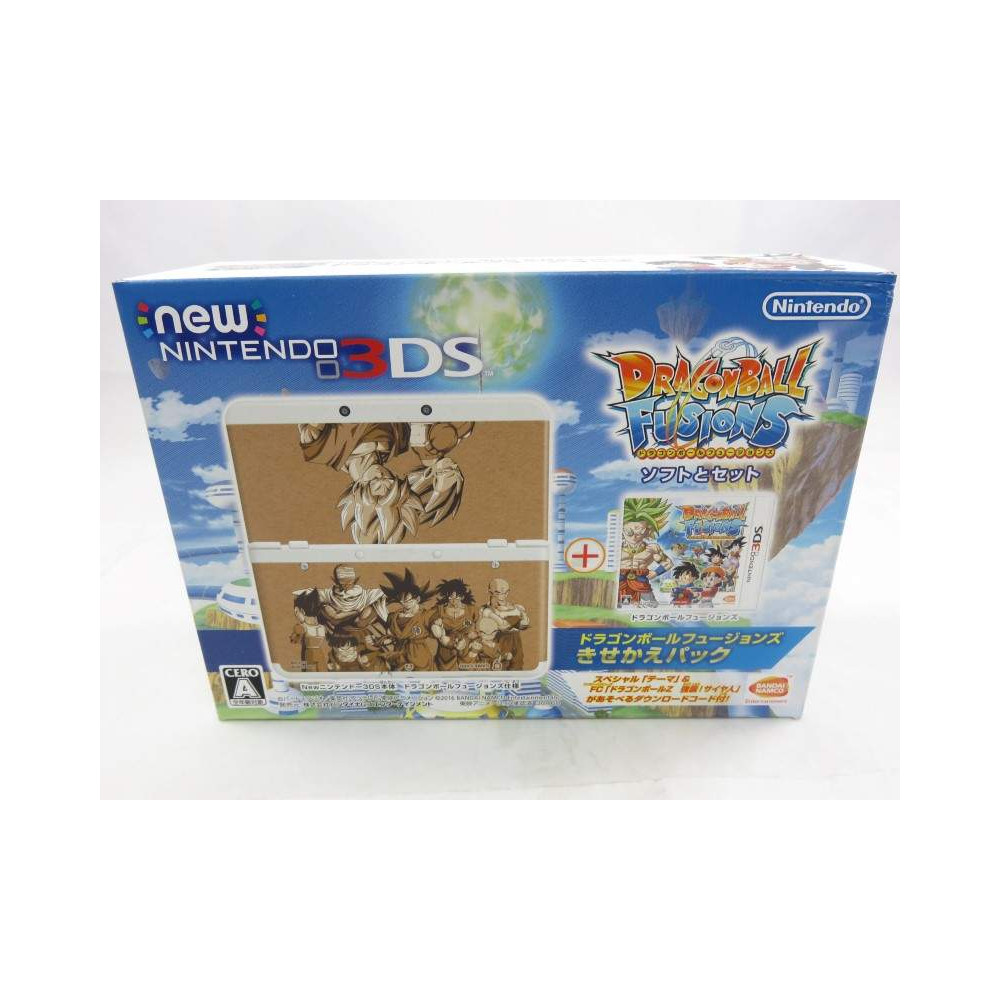 CONSOLE NEW 3DS DRAGONBALL FUSION JPN NEW