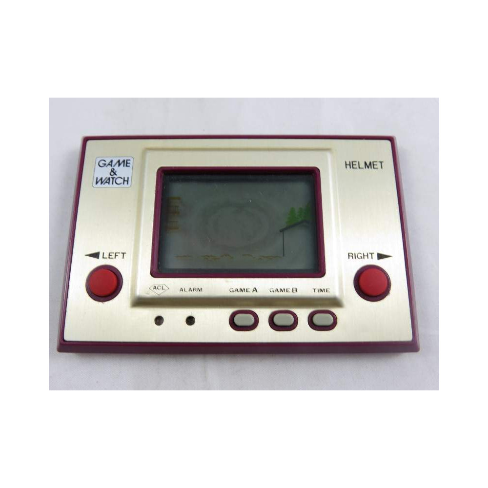 GAME & WATCH HELMET (CN-07) 1981 OCCASION