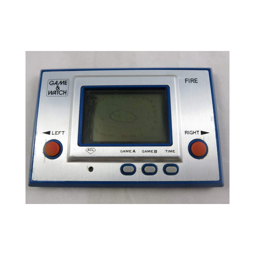 GAME & WATCH FIRE (RC-04) 1980 OCCASION