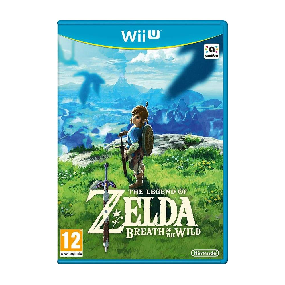 THE LEGEND OF ZELDA BREATH OF THE WILD WIIU UK OCCASION
