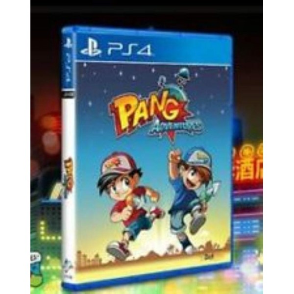 PANG ADVENTURES PS4 ALL NEW