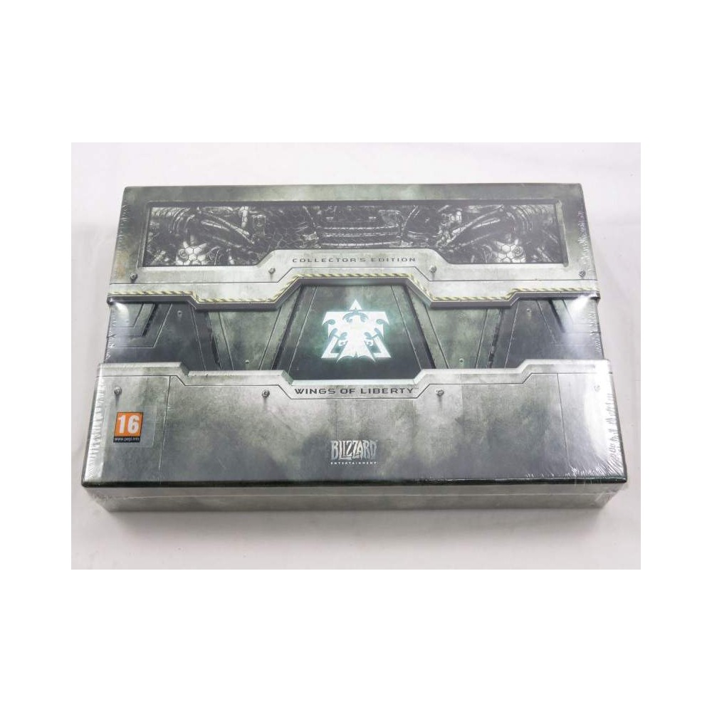 STARCRAFT II WINGS OF LIBERTY COLLECTOR PC UK NEW