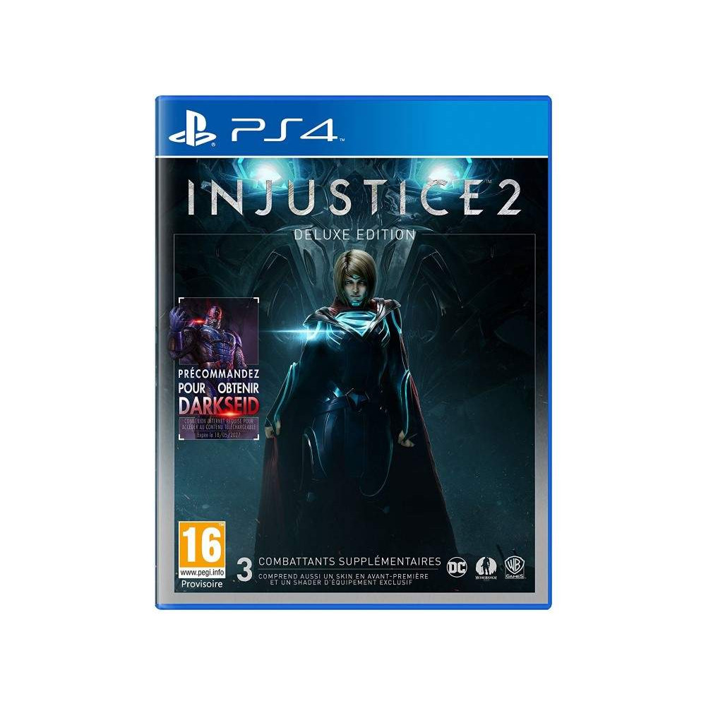 INJUSTICE 2 DELUXE EDITION PS4 FR NEW