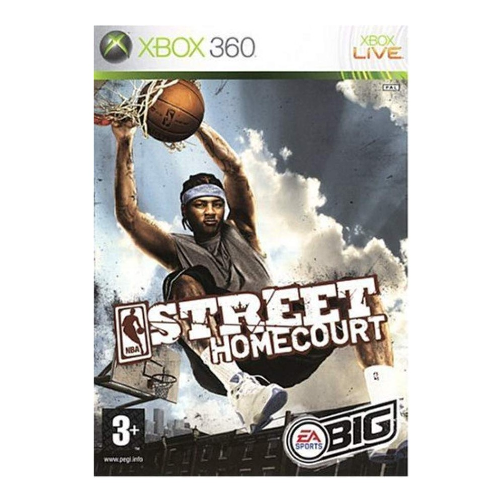 NBA STREET HOMECOURT XBOX 360 PAL-FR OCCASION
