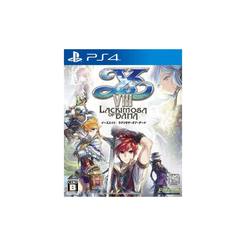 YS VIII LACRIMOSA OF DANA PS4 JPN NEW