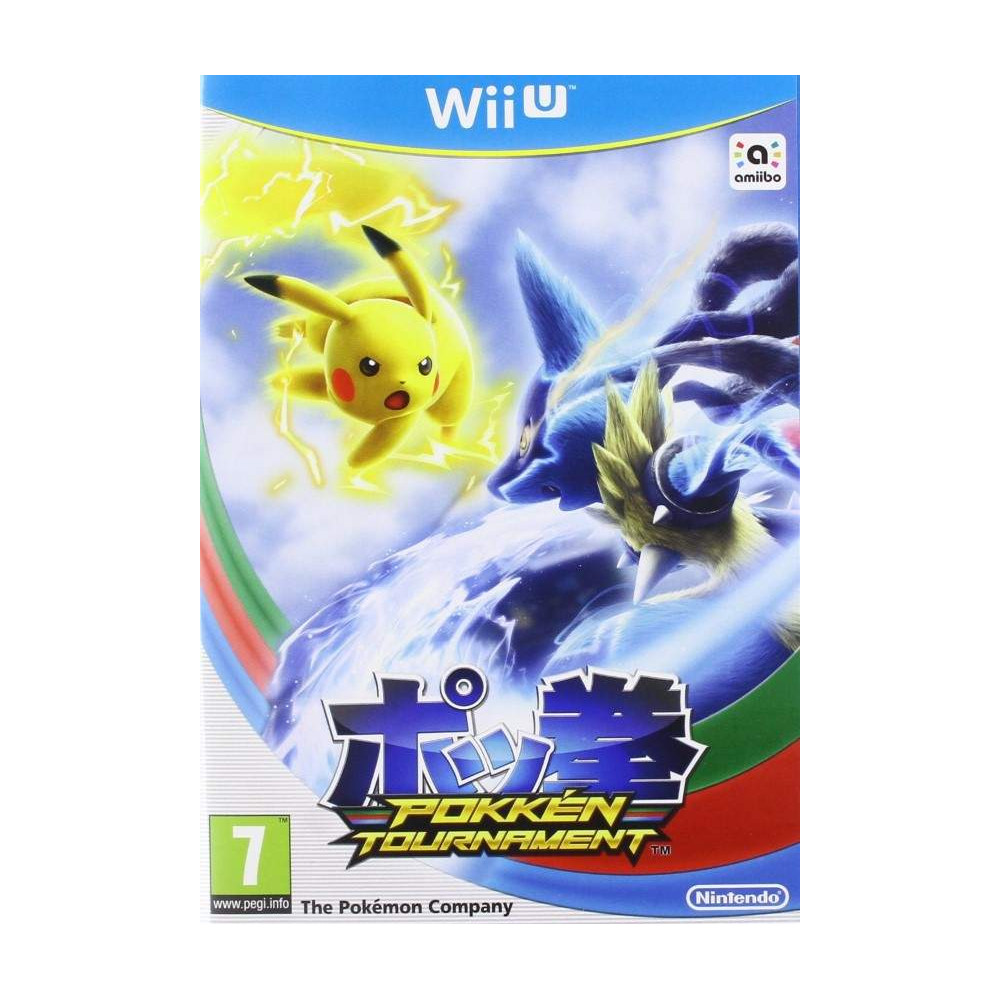 POKKEN TOURNAMENT WIIU ANGLAIS NEW