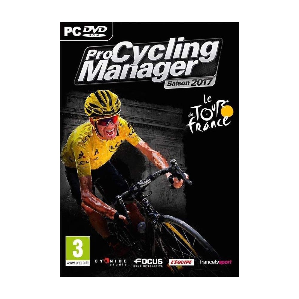 PRO CYCLING MANAGER SAISON 2017 PC FR NEW