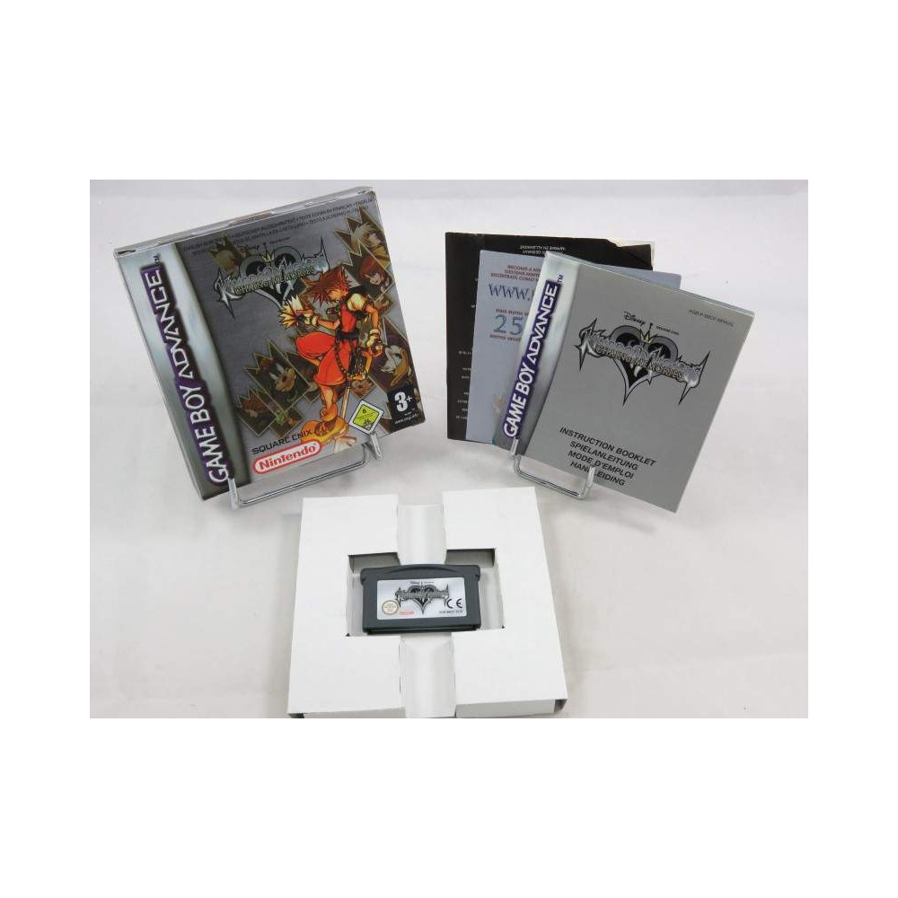 KINGDOM HEARTS CHAIN OF MEMORIES GBA EUR OCCASION