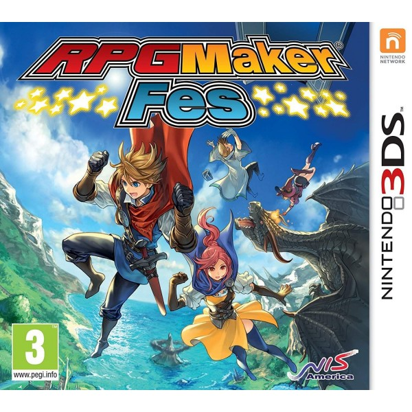 RPG MAKER FES 3DS FR NEW