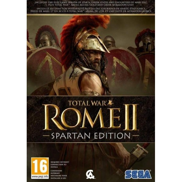 TOTAL WAR ROME 2 SPARTAN EDITION PC FR NEW