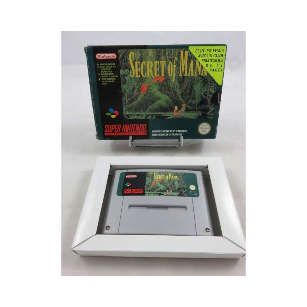 SECRET OF MANA SNES PAL-FRA OCCASION (SANS NOTICE)
