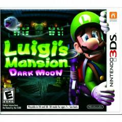 LUIGI S MANSION DARK MOON 3DS US OCCASION