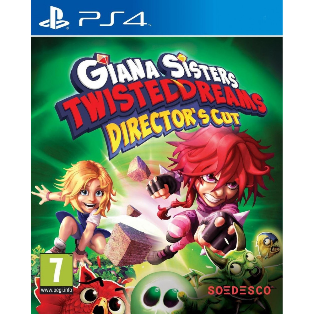 GIANA SISTERS TWISTED DREAMS PS4 VF