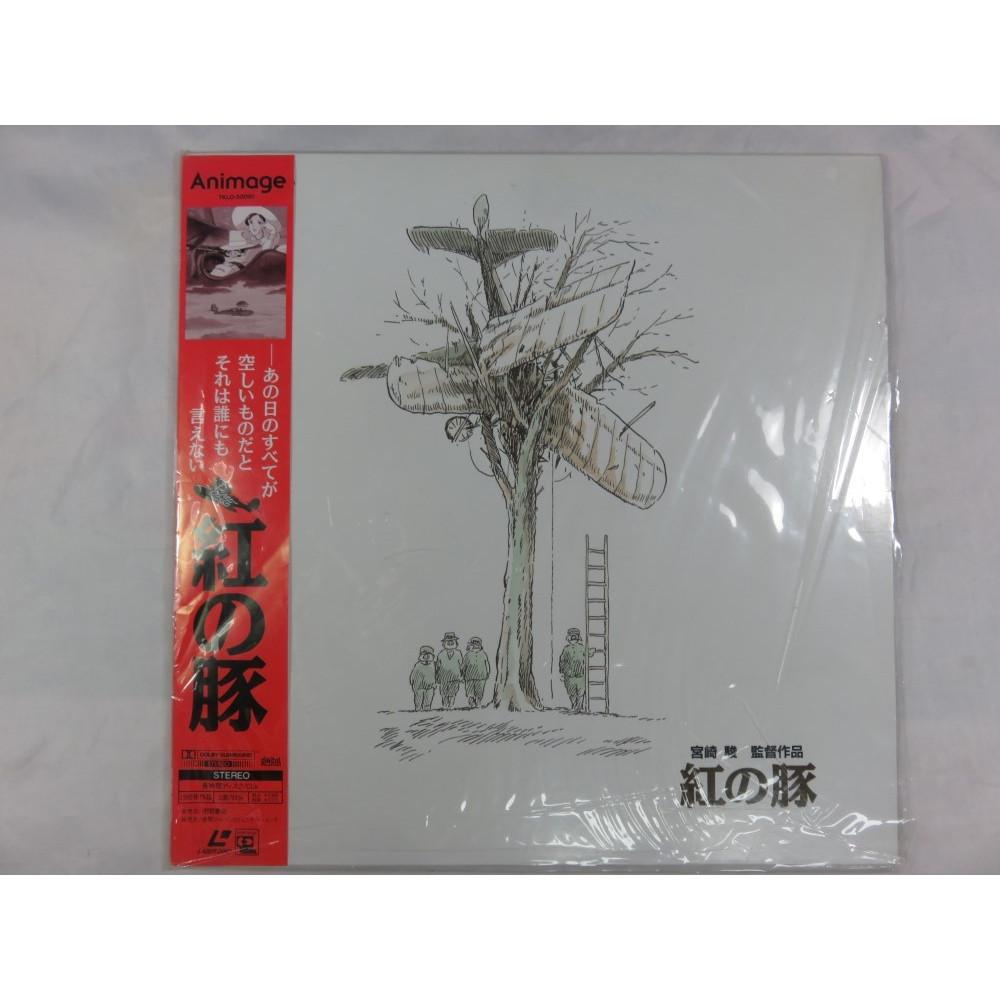 LD KURENAI NO BUTA GHIBLI LASER DISC NTSC-JPN OCCASION -PORCO ROSSO-