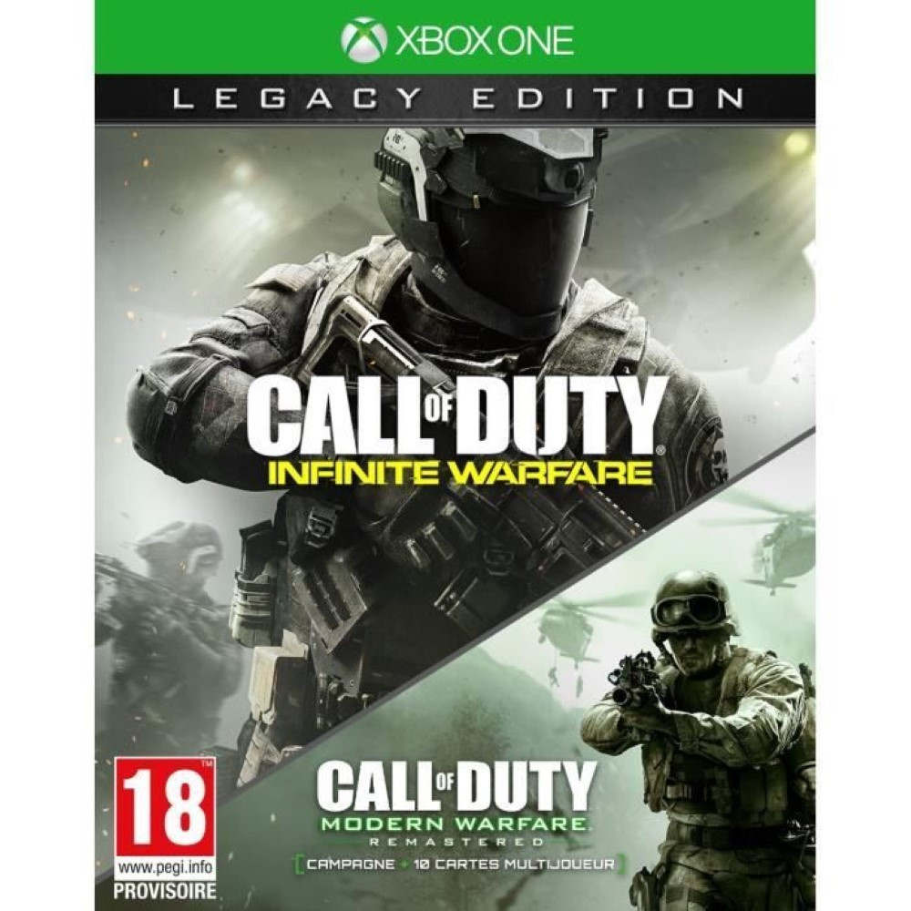 CALL OF DUTY INFINITE WARFARE EDITION LEGACY XBOX ONE FR OCCASION