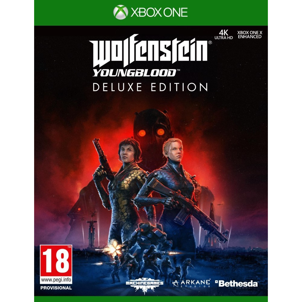 WOLFENSTEIN YOUNGBLOOD DELUXE EDITION XBOX ONE EURO FR NEW