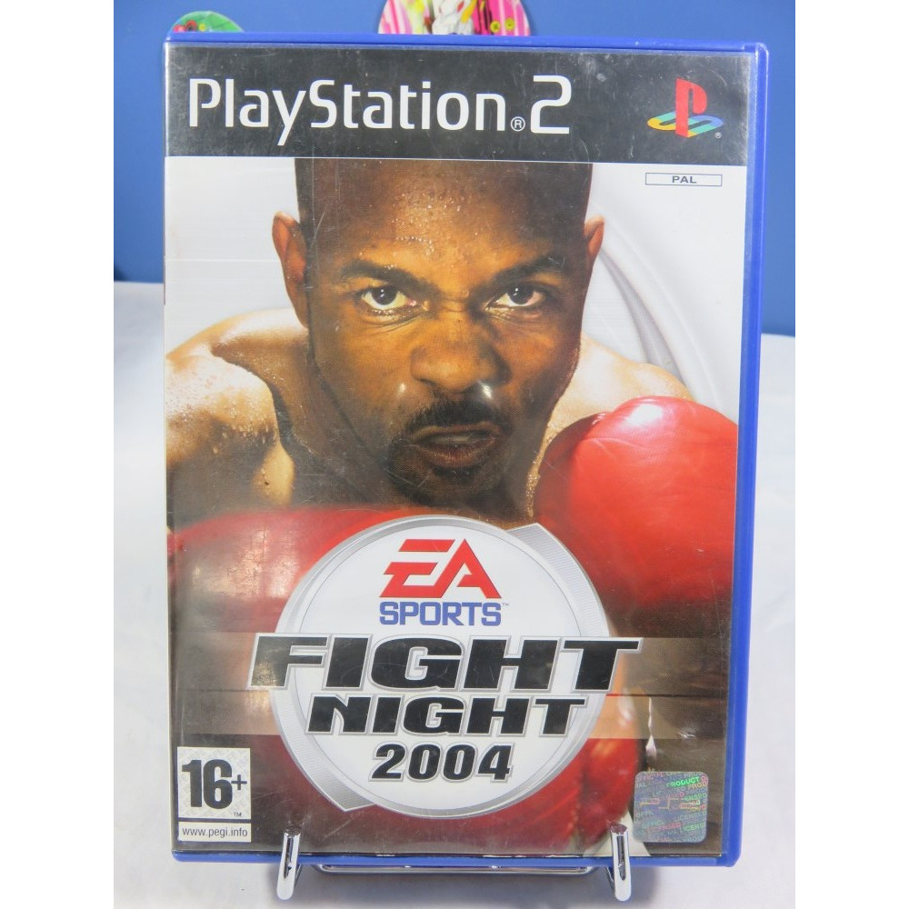 FIGHT NIGHT 2004 PS2 PAL-FR OCCASION