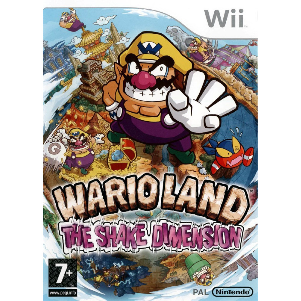 WARIO LAND: THE SHAKE DIMENSION WII PAL-FR NEW