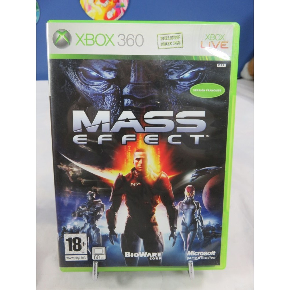 MASS EFFECT XBOX 360 PAL-FR OCCASION