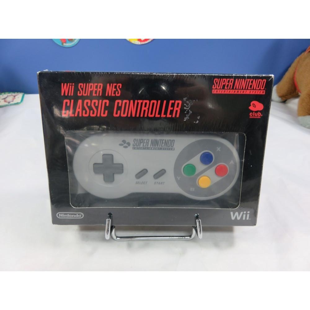 CONTROLLER - MANETTE WII SUPER NES CLASSIC CONTROLLER CLUB NINTENDO OCCASION