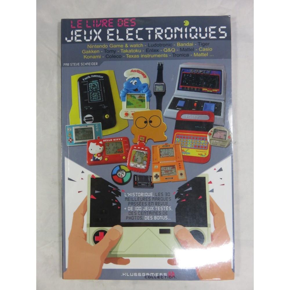 LE LIVRE DES JEUX ELECTRONIQUES (KLUBBGAMERS) NEW