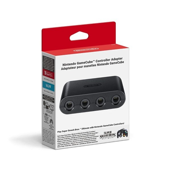 ADAPTATEUR NINTENDO GAMECUBE SWITCH EURO OCCASION