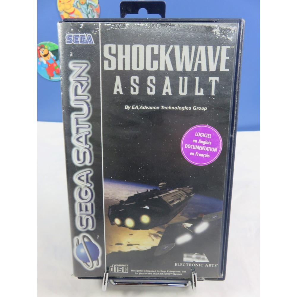 SHOCKWAVE ASSAULT SATURN PAL-EURO OCCASION