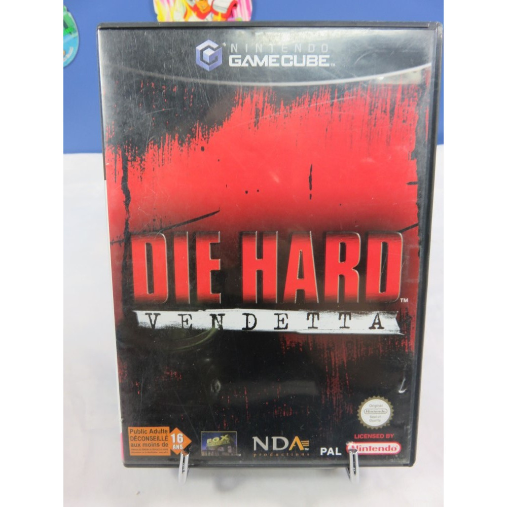 DIE HARD VENDETTA GAMECUBE PAL FRA OCCASION