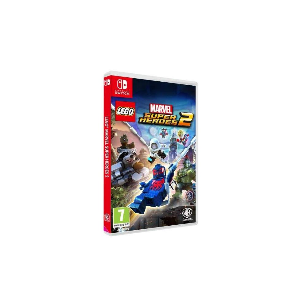 LEGO MARVEL SUPER HEROES 2 SWITCH ITALIEN AVEC TEXTE EN FRANCAIS OCCASION