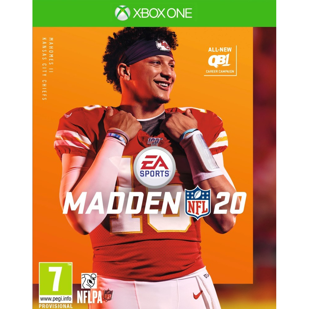 MADDEN 20 XBOX ONE FR NEW