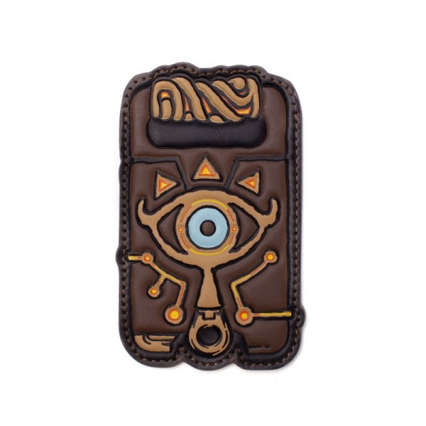 PORTE CARTE ZELDA BREATH OF THE WILD LINK SHEIKAH SLATE CARD WALLET NEW