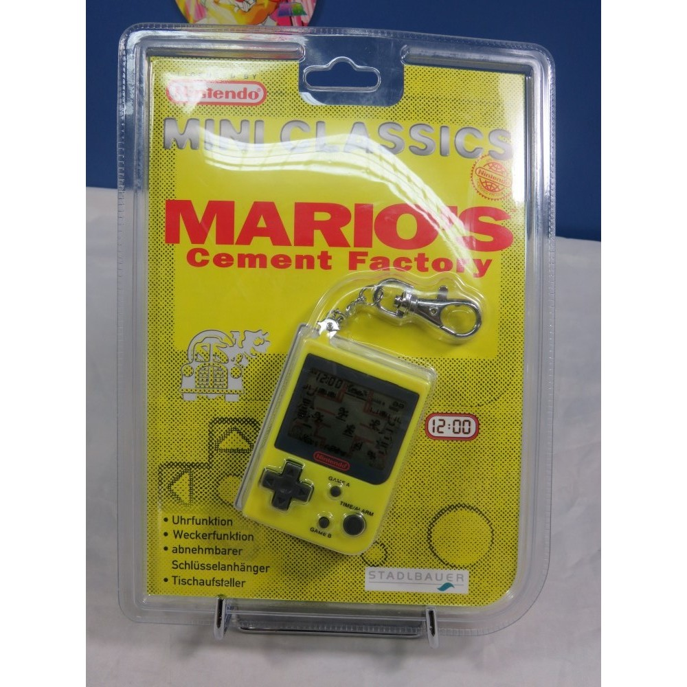 GAME & WATCH MARIO S CEMENT FACTORY (MINI CLASSICS 1998) EURO NEW