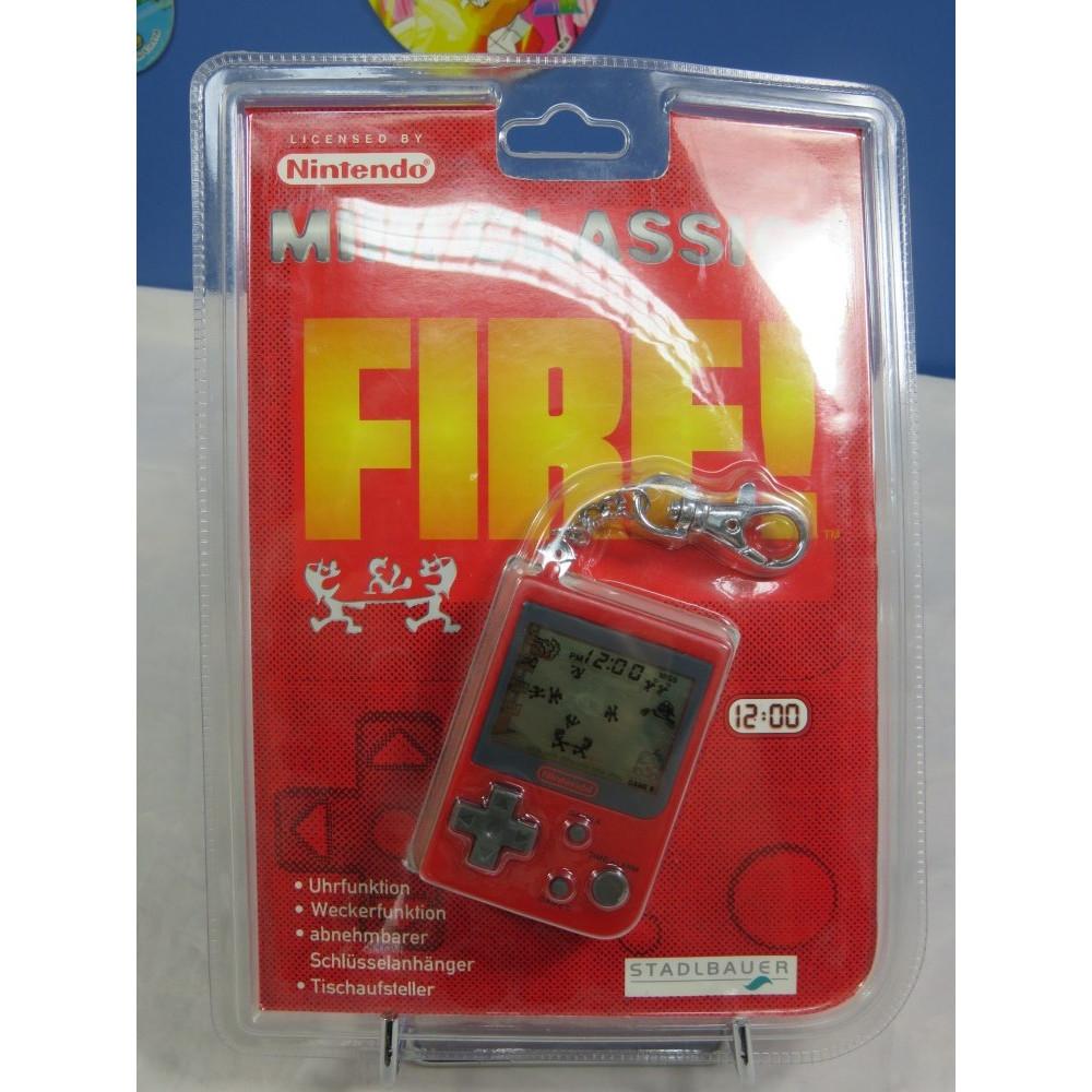 GAME & WATCH FIRE! (MINI CLASSICS 1998) EURO NEW