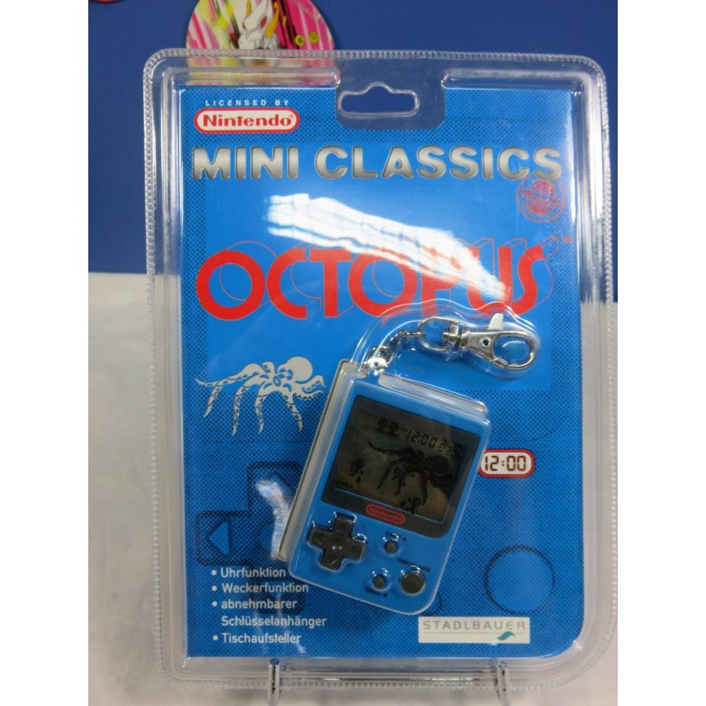 GAME & WATCH OCTOPUS (MINI CLASSICS 1998) EURO NEW