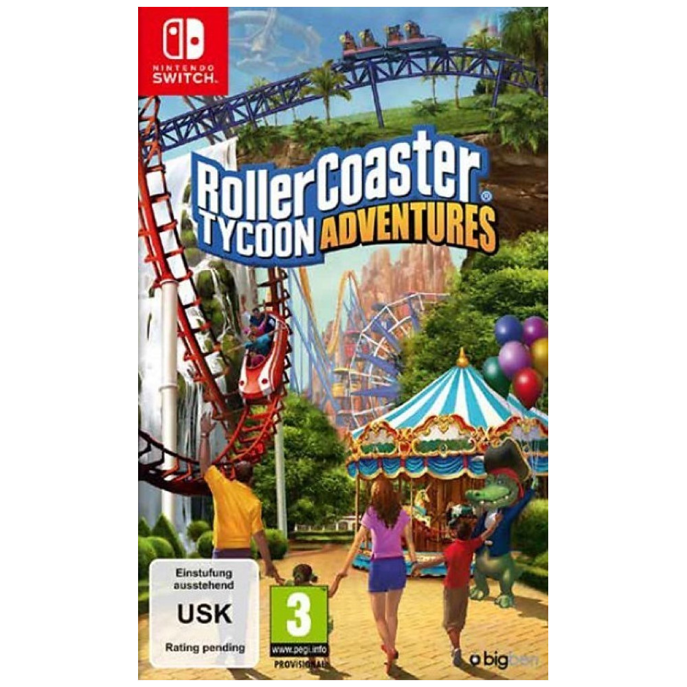 ROLLER COASTER TYCOON ADVENTURE S SWITCH FR OCCASION