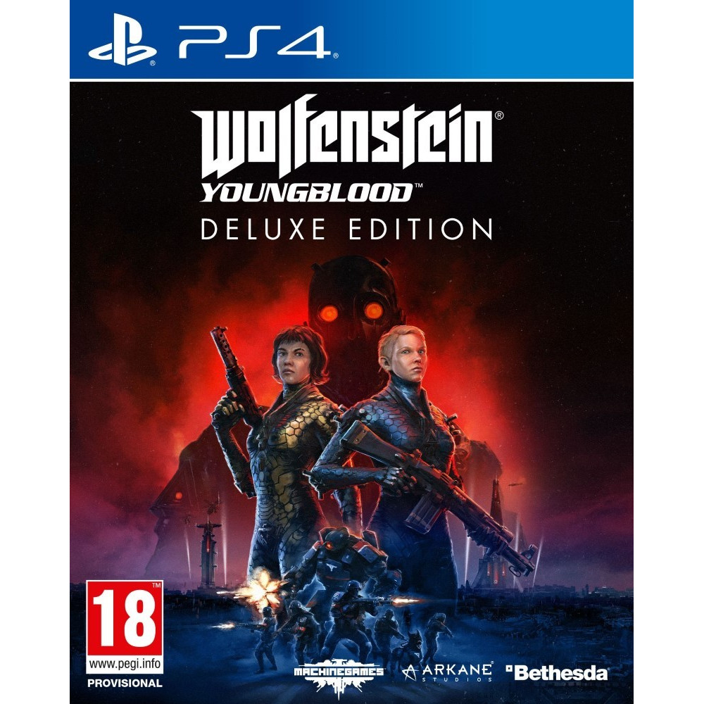 WOLFENSTEIN YOUNGBLOOD DELUXE EDITION PS4 EURO FR OCCASION