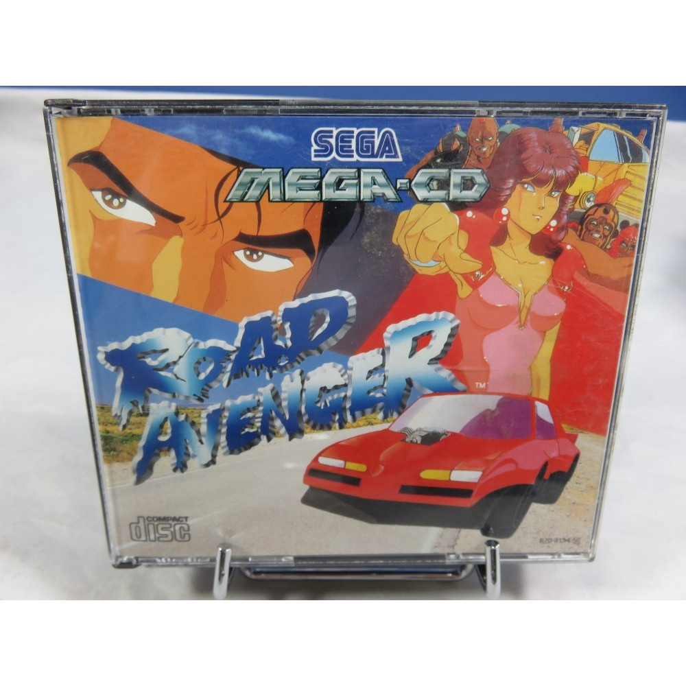 ROAD AVENGER MEGA CD PAL-EURO OCCASION