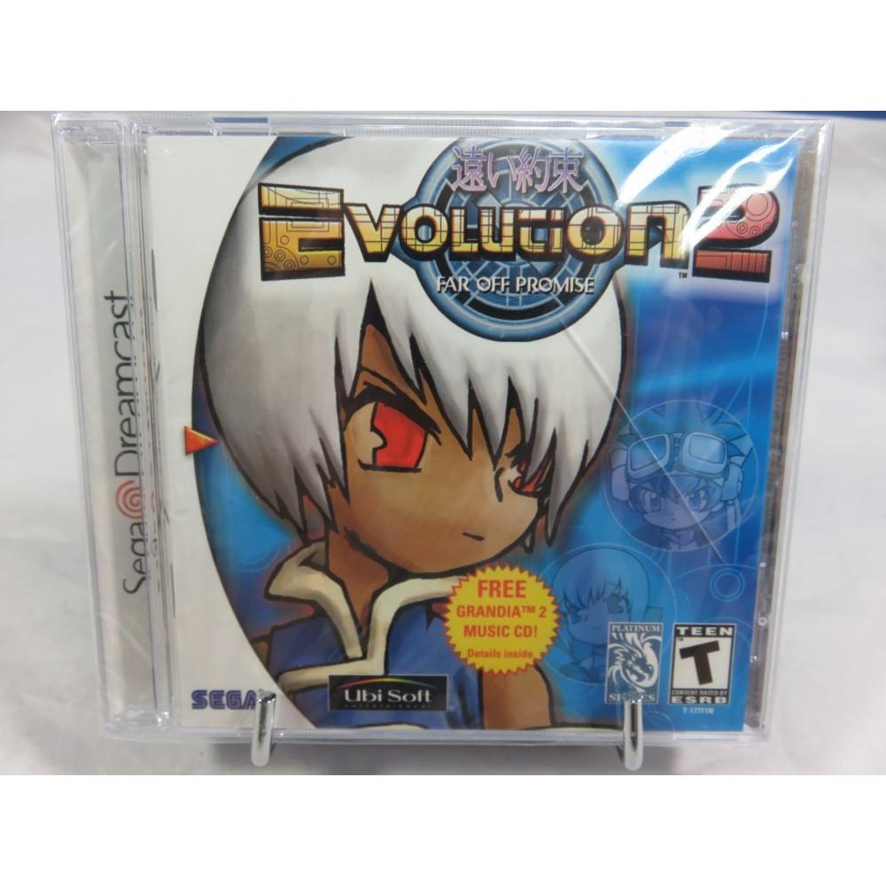 EVOLUTION 2 SEGA DREAMCAST NTSC-USA BRAND NEW