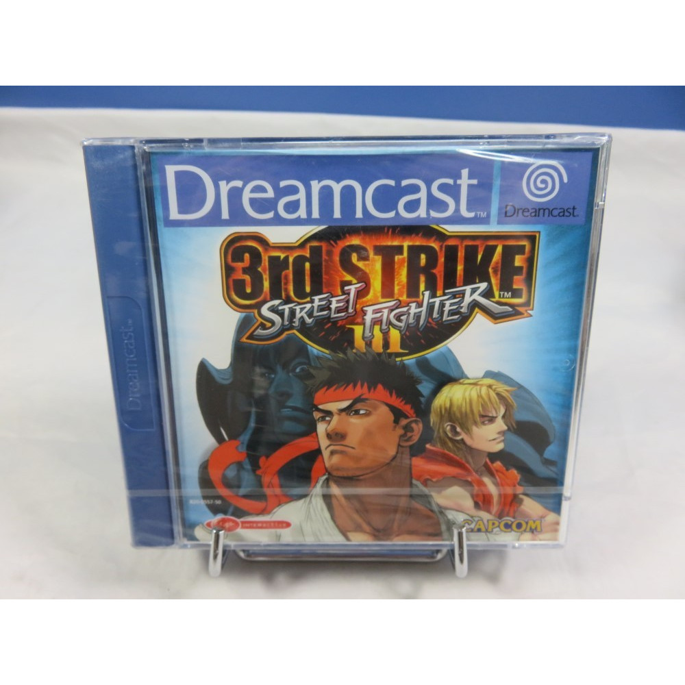 STREET FIGHTER III 3RD STRIKE DREAMCAST PAL-EURO FR NEW