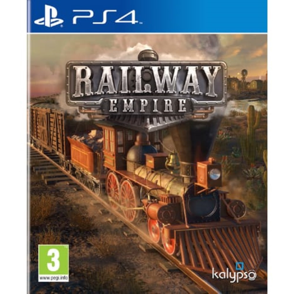 RAILWAY EMPIRE PS4 FR OCCASION