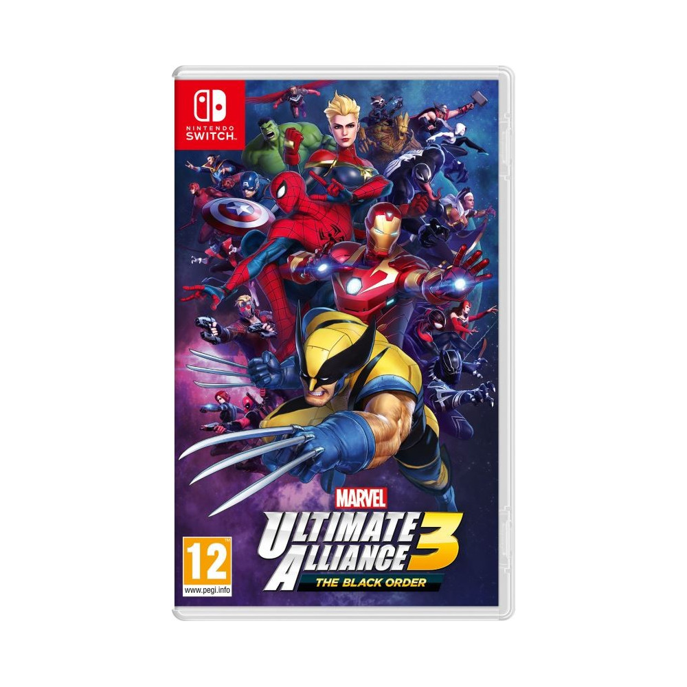 MARVEL ULTIMATE ALLIANCE 3 THE BLACK ORDER SWITCH UK OCCASION