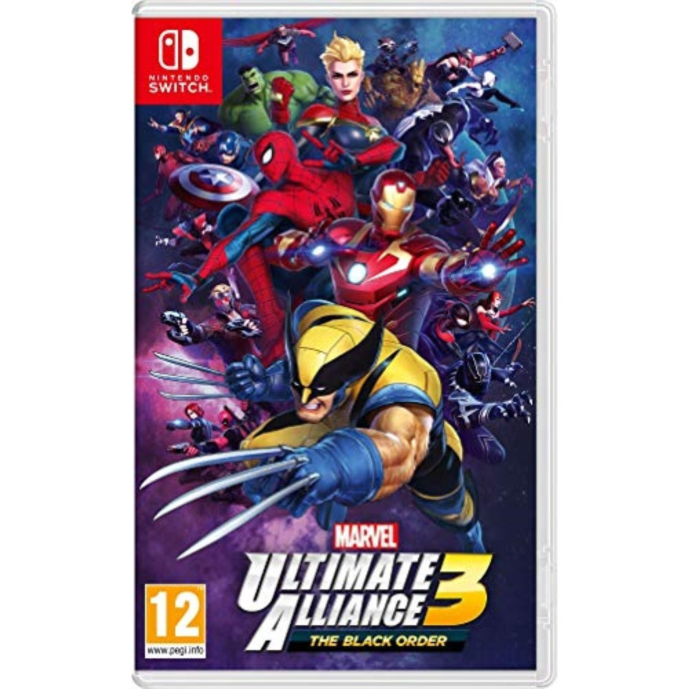 MARVEL ULTIMATE ALLIANCE 3 SWITCH FR OCCASION