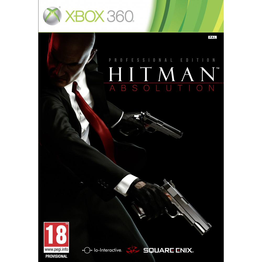 HITMAN ABSOLUTION PROFESSIONAL EDITION XBOX 360 PAL-FR OCCASION