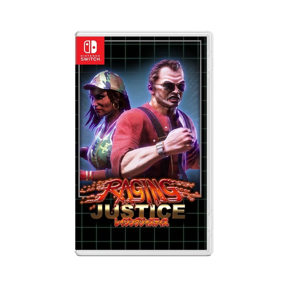 RAGING JUSTICE SWITCH UK NEW